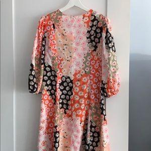 ASOS Dresses - Asos • Daisy Print Maxi Trapeze Dress
